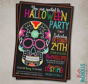 Winter Party Invitation Template Halloween Special 39 Rsvp If You Dare 39 Invitations Make