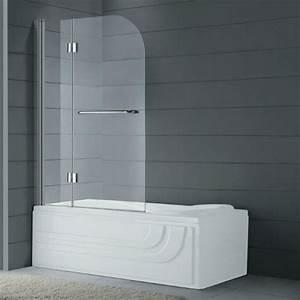 Baignoire Avec Porte Pas Cher : paroi de baignoire pliante pas cher et sur mesure en verre ~ Premium-room.com Idées de Décoration