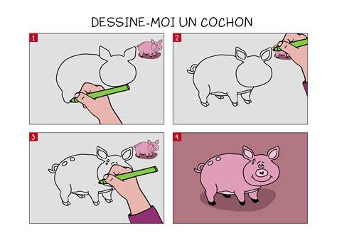 comment cuisiner un cochon apprendre à dessiner un cochon en 3 é