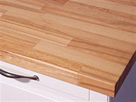 Arbeitsplatte  Küchenarbeitsplatte Massivholz Kernbuche