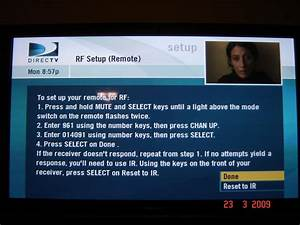 How To Program Direct Tv Remote Rc64rb To Rf