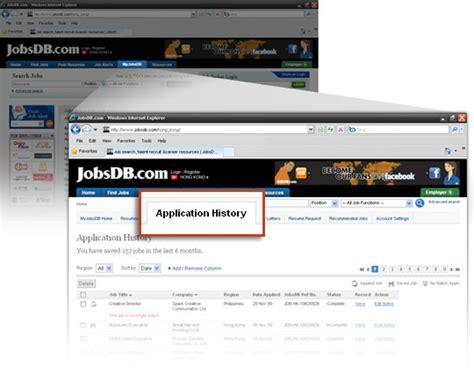 Jobsdb Resume Status by Application Application Faq Jobsdb