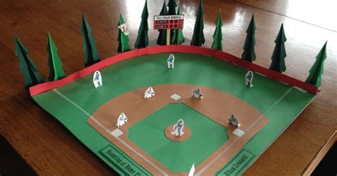 baseball project   book report kids school projects