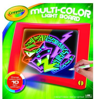 crayola light up board crayola multi color light board only 14 99 40 off