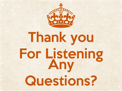 Thank You For Listening Any Questions? Poster  Xiaotang Wang  Keep Calmomatic