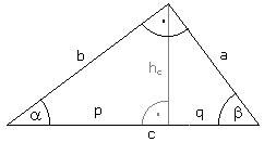 rechtwinklige dreiecke berechnen