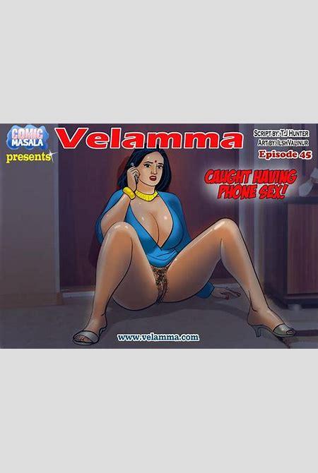 Velamma - 45 - Caught Having Phone Sex! » 8muses