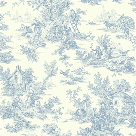 toile geotextile home depot york wallcoverings chagne toile wallpaper at4229 the home depot
