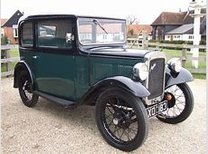 1934 AUSTIN SEVEN RP BOX SALOON SOLD Car And Classic