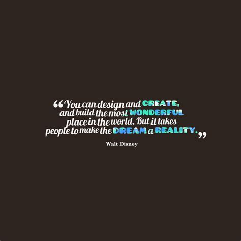 Picture Walt Disney Quote About Design  Quotescovercom