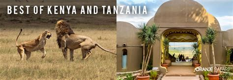 Best Safaris In Kenya 8 Days Kenya Tanzania Safari