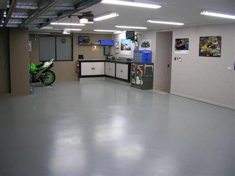 Would I do my garage floor in VCT (Vinyl Composite Tile