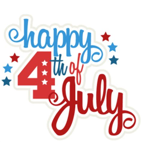 July 4th Clip Happy 4th Of July Clipart Animated Images Free