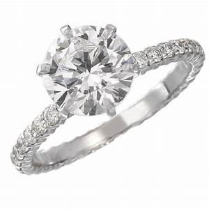Solitaire diamond rings wedding promise diamond for Wedding rings to go with solitaire engagement ring