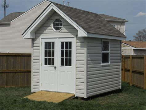 White Firewood Shed by Sheds