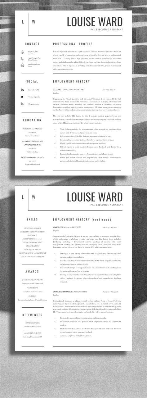 Cv Get Interviews by Professional Resume Design Professional Cv Design Be