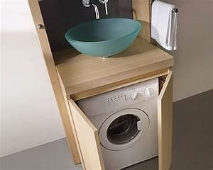 meuble lave linge salle de bain meuble lave linge salle With meuble salle de bain machine a laver