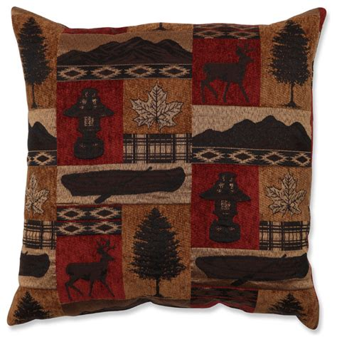 rustic throw pillows evergreen lodge throw pillow rustic decorative pillows