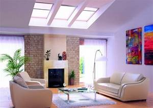 30 Inspirational Ideas For Living Rooms With Skylights