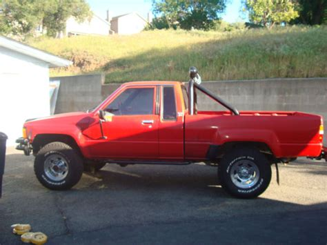 Back To The Future 1985 Toyota Sr5 For Sale by 1985 Toyota Cab Sr5 Efi 4x4 Deluxe Quot Back To
