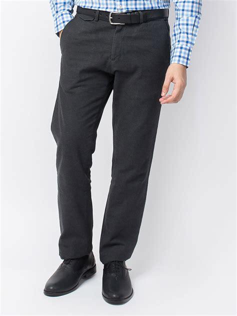 grey semi formal trouser brumano
