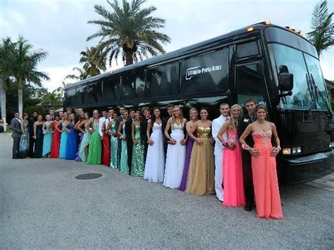 Prom Season Is Here Ultimate Party Bus