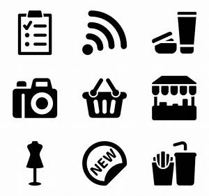 Mall Icons - 89 free vector icons