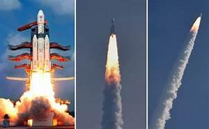 Photos: ISRO successfully launches India's heaviest rocket ...