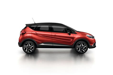 renault red renault captur gets flame red paint and extended grip