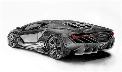 Lamborghini Centenario Drawing By Pavee12120 On Deviantart