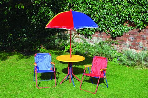 Kids Patio Set With Umbrella Cute Furniture Dressers For
