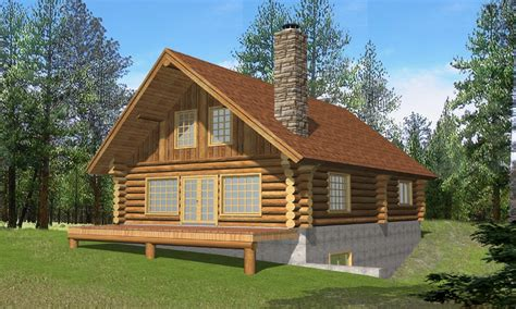 Small Log Cabin Homes Log Cabin Home House Plans, Log Home