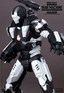Iron Man 2 War Machine Special Edition Hot Toys - $195.30 ...