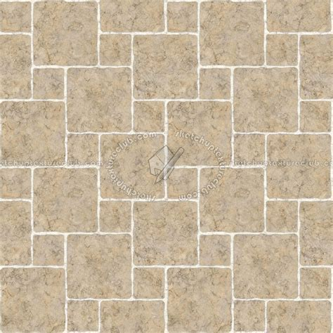 Marble paving outdoor texture seamless 17826