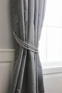 Diy decorative curtain tie backs goodwill industries of for Curtain tie backs placement