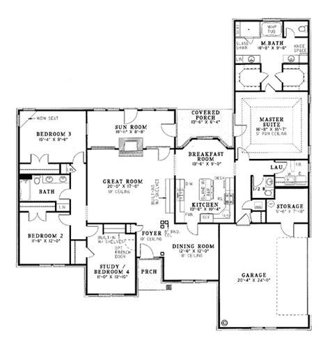 sunroom floor plans european traditional house plan 61057