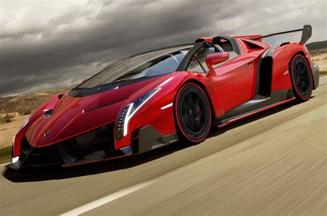 convertible lamborghini red lamborghini veneno roadster uncovered