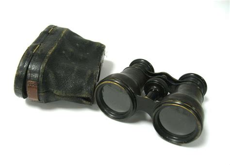 Antique Lemaire Paris Opera Glasses Binoculars Case *