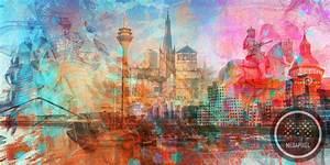 Stier Bilder Auf Leinwand : d sseldorf kunstdrucke als moderne wandbilder auf leinwand und acryl ~ Whattoseeinmadrid.com Haus und Dekorationen