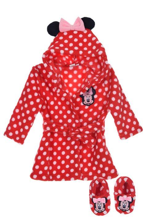robe de chambre bebe robe de chambre et chaussons bébé fille minnie 24 99