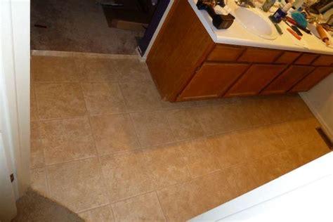 vinyl tiles  bathroom   plywood  direct