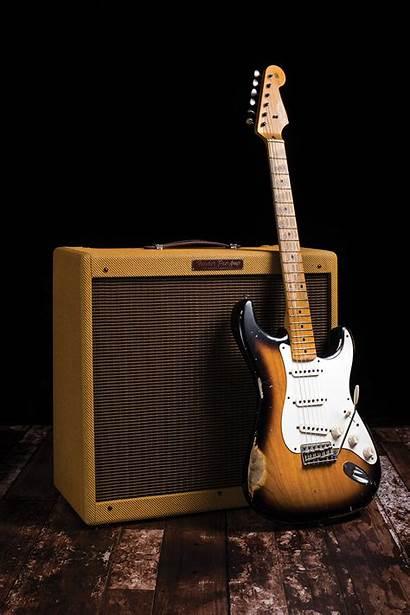 Guitar Bass Fender Amp Custom Stratocaster Pro