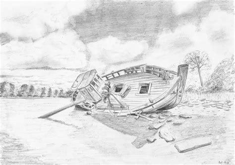 Kleurplaat Hupie by Stranded Boat Small By Hupie On Deviantart