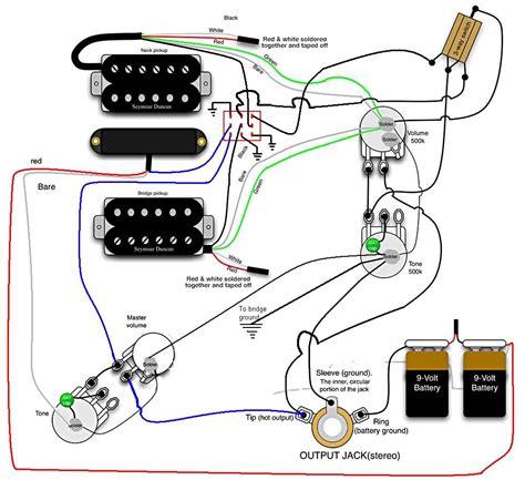 Jazzmaster Wiring Schematic Diagram