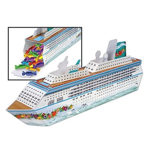 3 d cruise ship centerpiece partycheap
