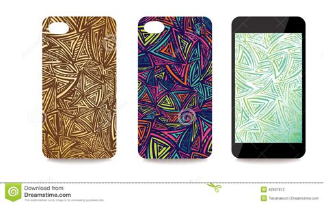 free mobile cover mobile phone cover back and screen set with abstract