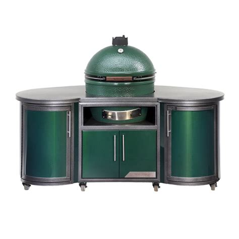kitchen island cabinet plans custom cooking island big green egg