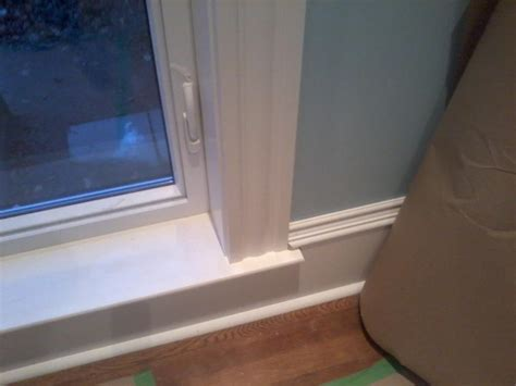 window sill stool casing door sills tying application into mean diy attachments construction