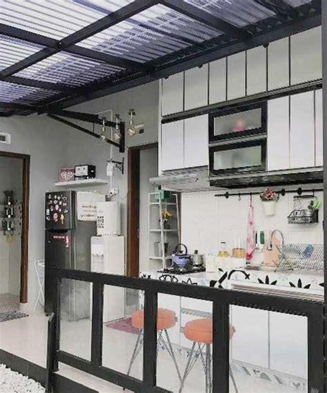 inspiratif desain atap dapur transparan
