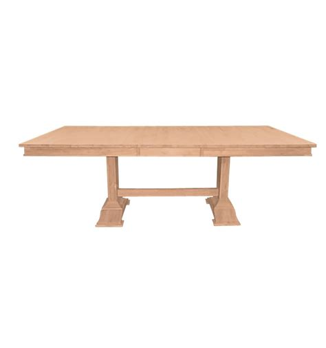 84 inch dining table 84 inch trestle butterfly dining table simply woods 7382